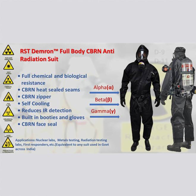 RST Demron Anti Radiation Suit