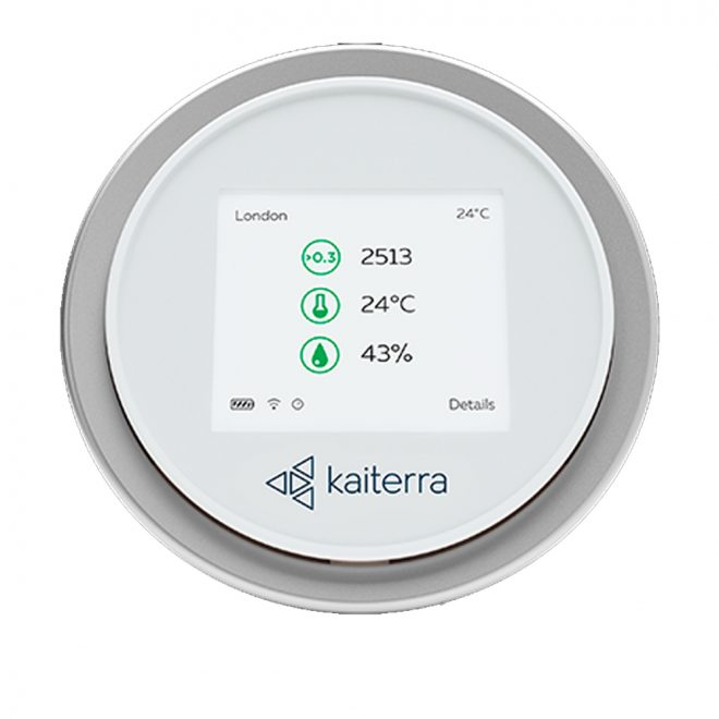 Kaiterra Laser Egg and chemical Air Quality monitor