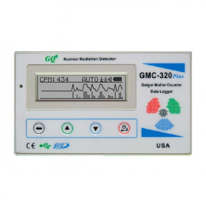 GQ GMC-320Plus Geiger Muller Counter