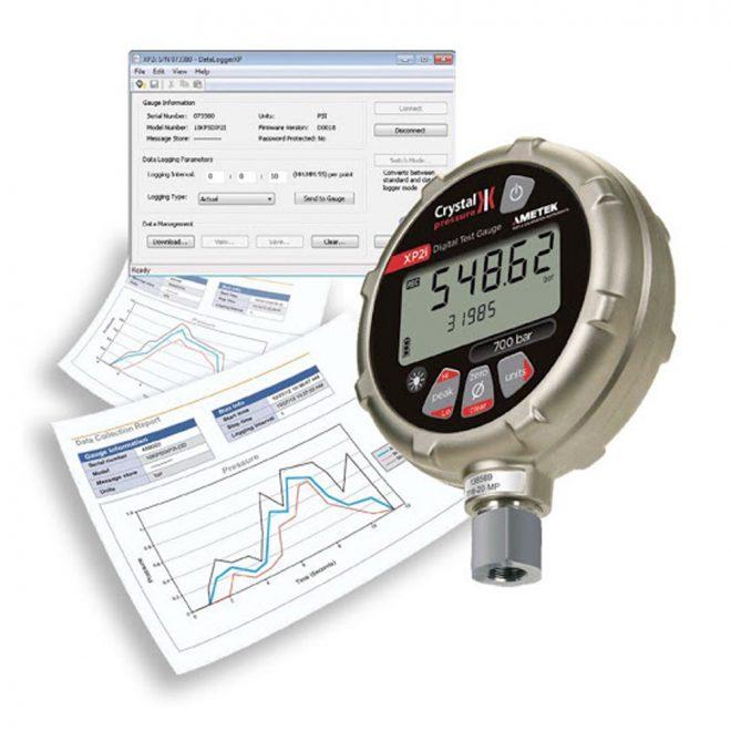 Ametek XP2i Digital Pressure Gauge 4