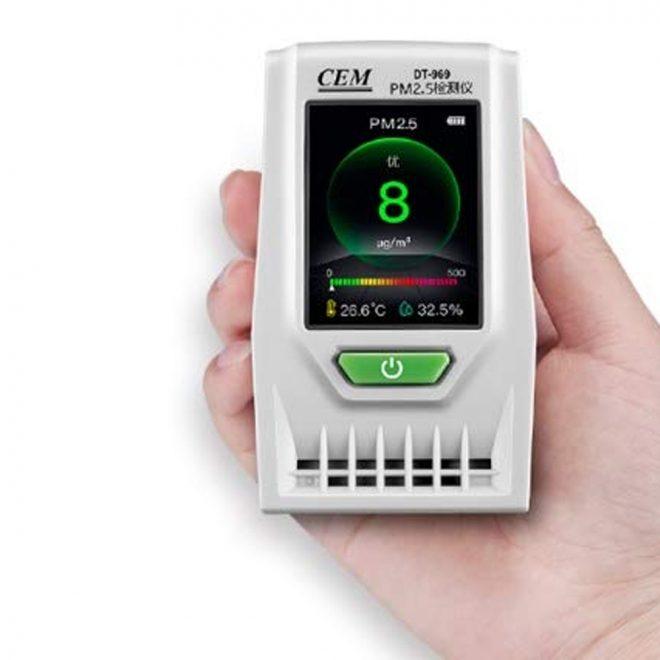 CEM DT 969 Air Particle Counter 3