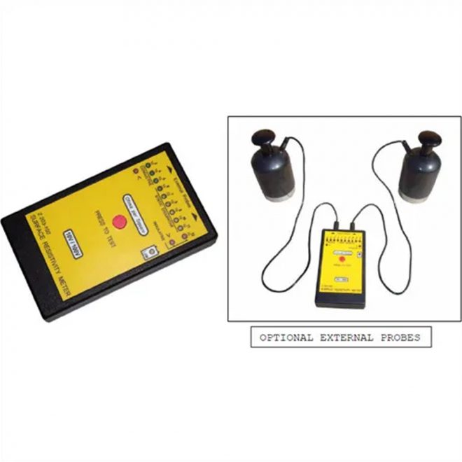ESD ZE203 Safe Surface Resistivity Meter 4