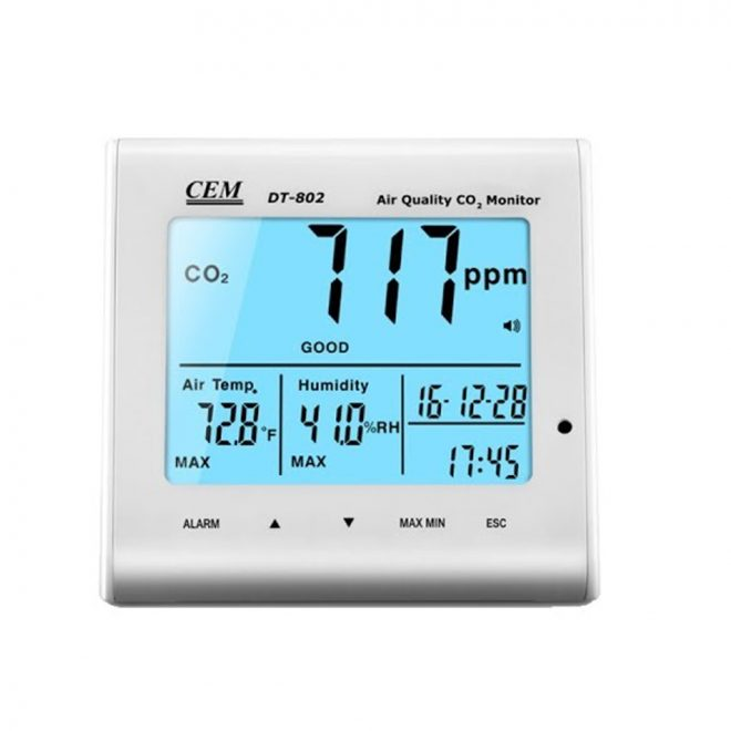 CEM DT 802 CO2 Air Quality Monitor