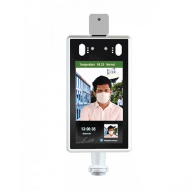Toshniwal Industries Face recognition temperature measuring access control machine