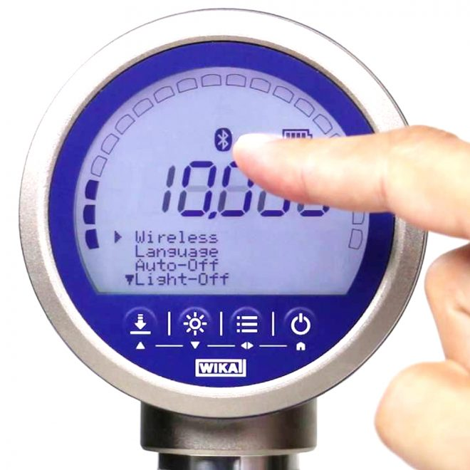 Wika CPG1500 Precision digital pressure gauge
