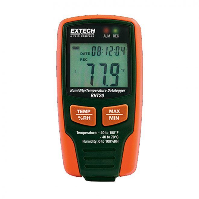 extech RhT20Humidity and Temperature USB Datalogger