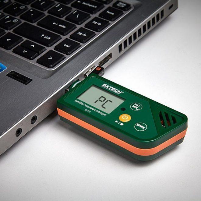 extech RhT30 30 Humidity and Temperature USB Datalogger 4