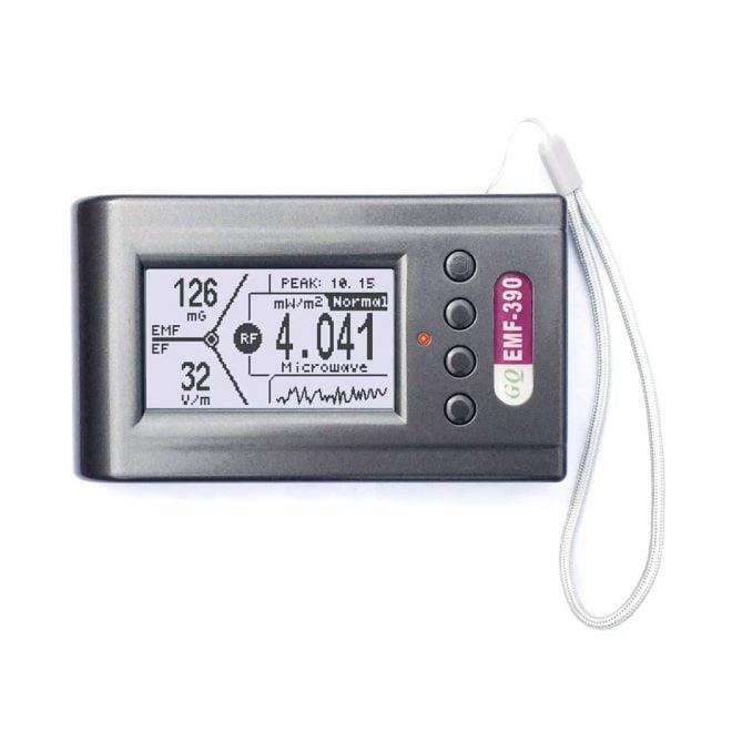 GQ EMF-390 EMF Meter, RF Spectrum Power Analyzer