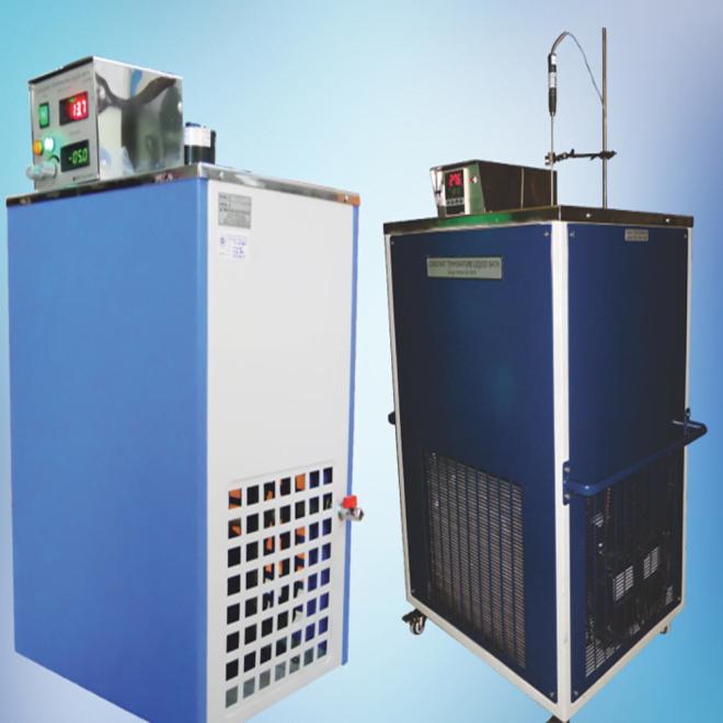 R&D Instruments liquid bath temperature calibrator.
