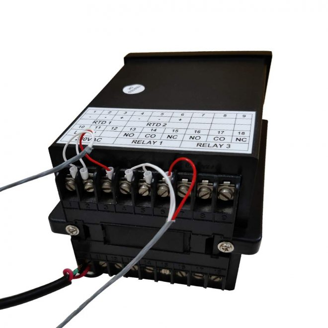 Dry and Wet Bulb Controller