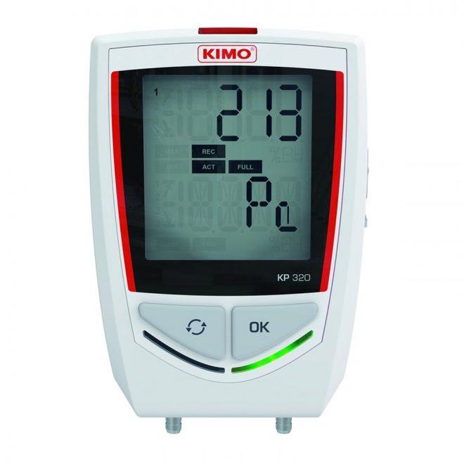 Kimo KP 320 Bluetooth Differential Pressure Data Logger