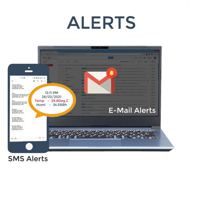 Email and SMS alerts