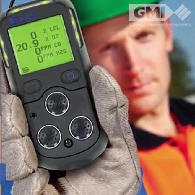 GMI PS200 Portable Multi-Gas Detector