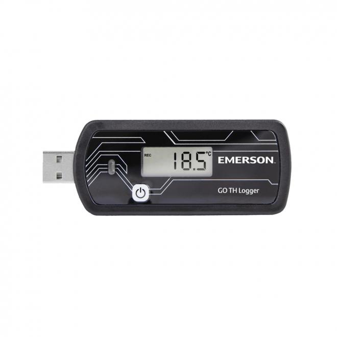 Emerson GO TH Temperature and Humidity Datalogger