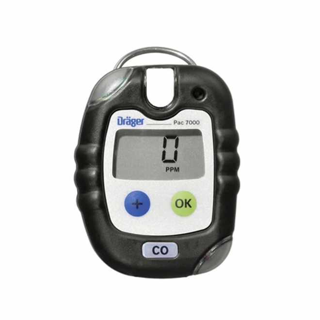 Drager Pac 7000 CO Gas Detector