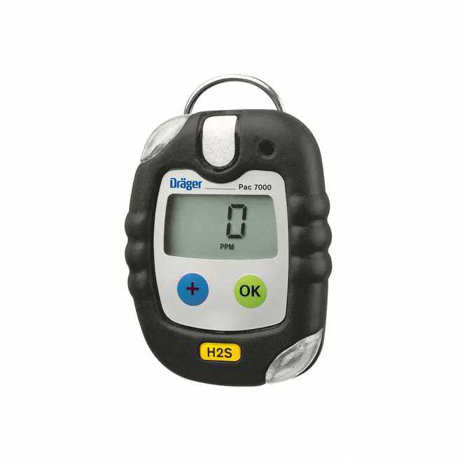 Drager Pac 7000 H2S Gas Detector
